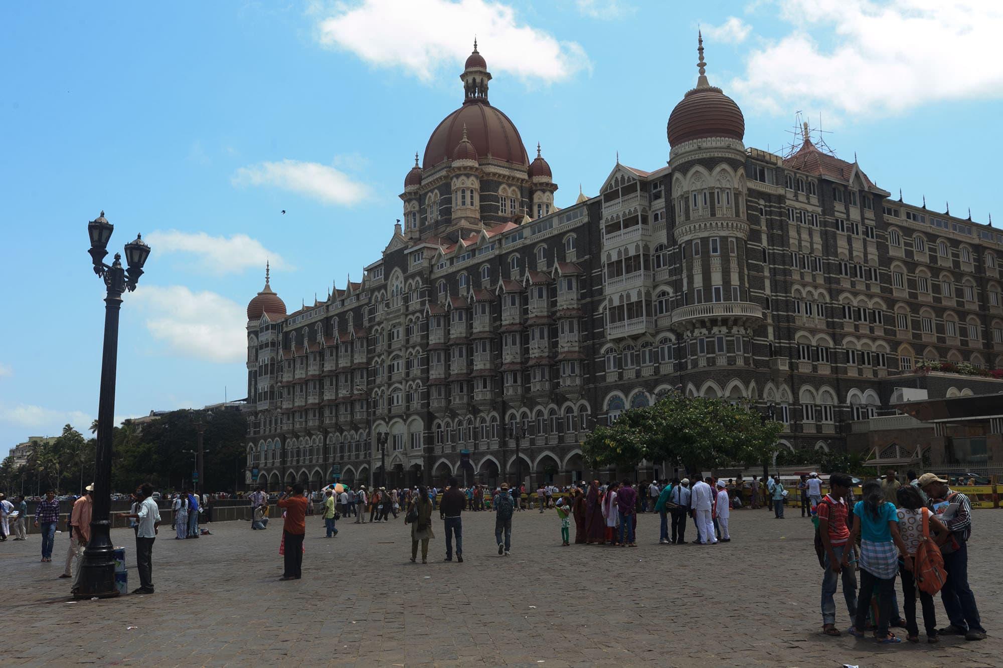 Gateway of India in Mumbai, India.