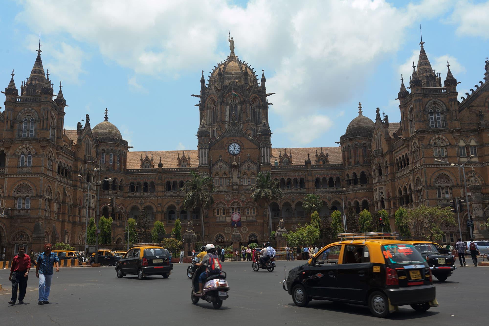 Victoria Terminal in Mumbai, India.