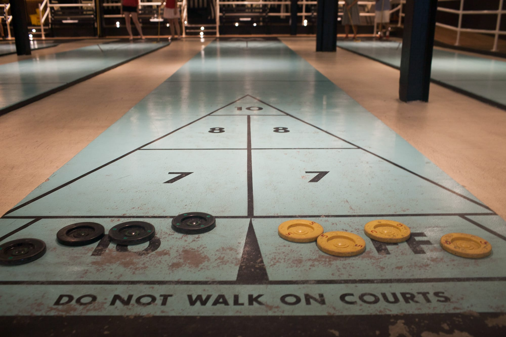 Royal Palms Shuffleboard Club in Brooklyn, New York