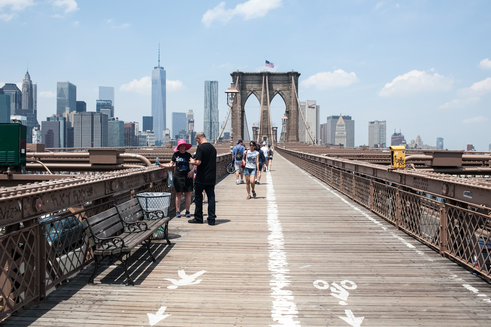 Life list item: Walking across the Brooklyn Bridge.