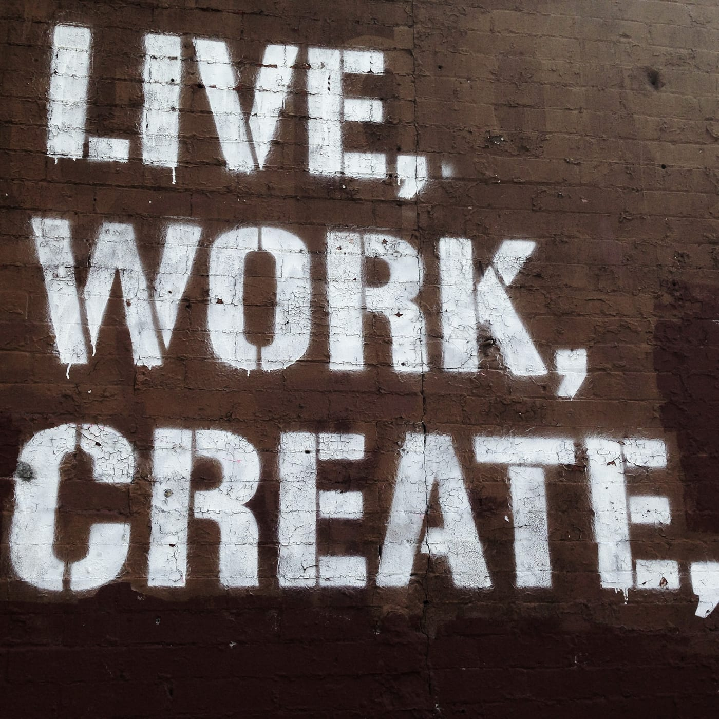 Live, Work, Create in Park Slope, Brooklyn.