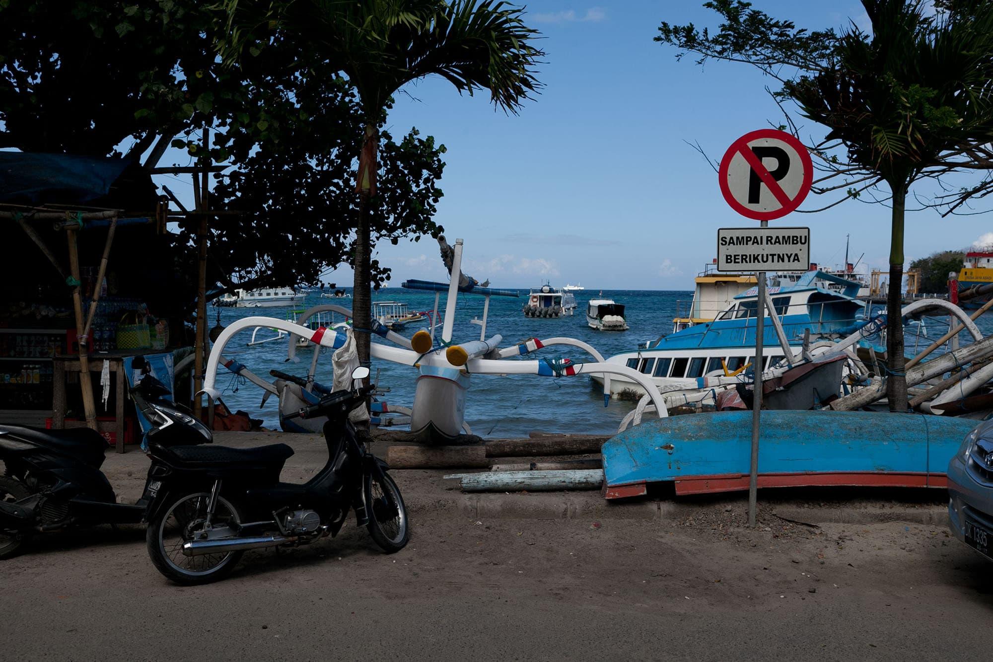 Padang Bai, Bali, Indonesia.