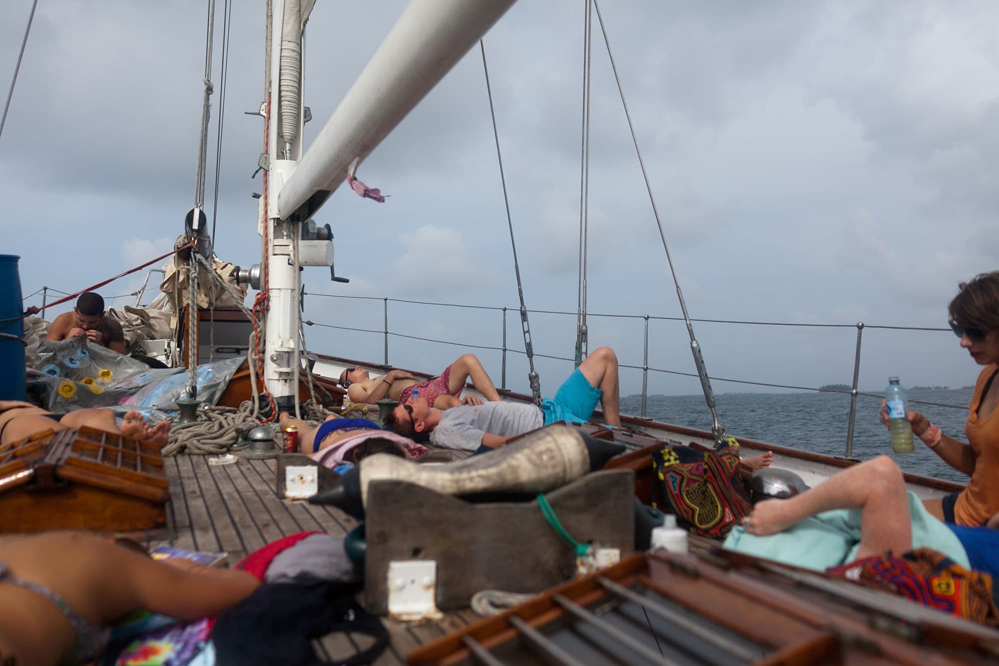 Sailing trip from Colombia to Cartagena, Colombia on the Gitana III