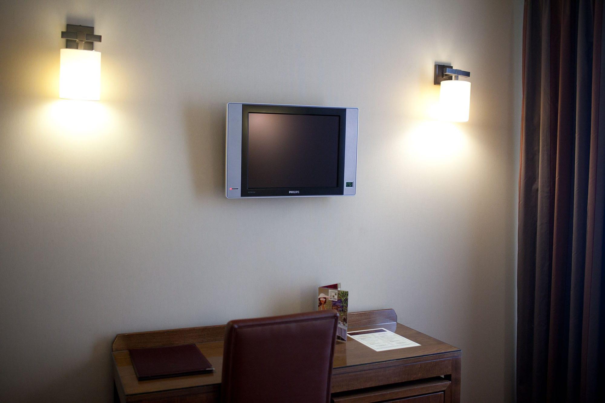 Television in my Paris hotel room.