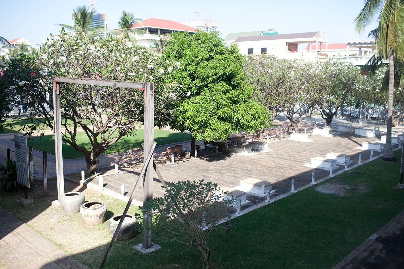 Genocide Museum in Phnom Penh, Cambodia