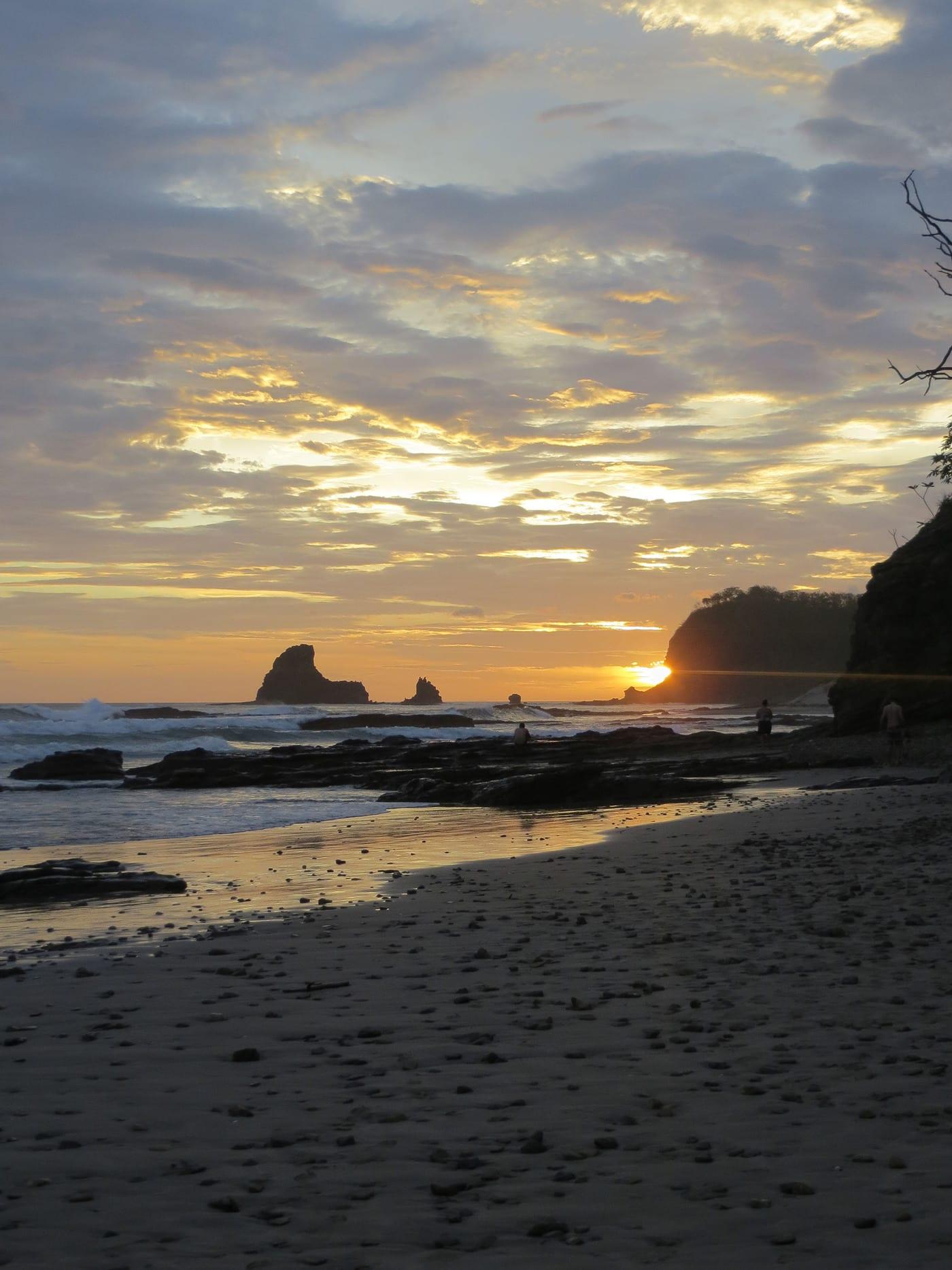 Playa Maderas in San Juan Del Sur, Nicaragua