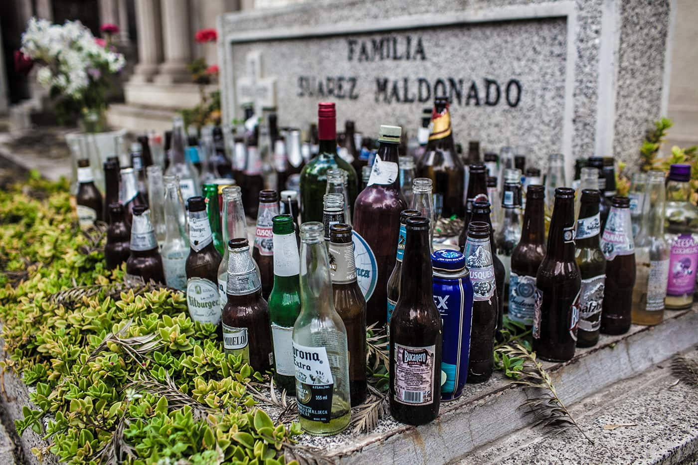 Cemetery in Santiago, Chile