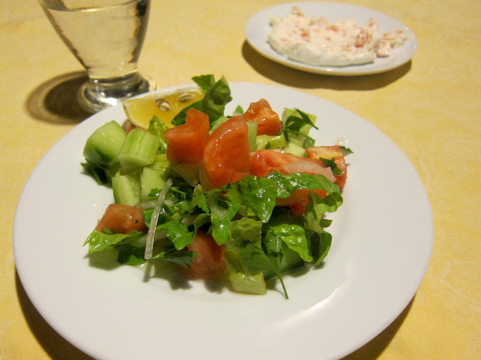 Dinner in Selcuk, Turkey