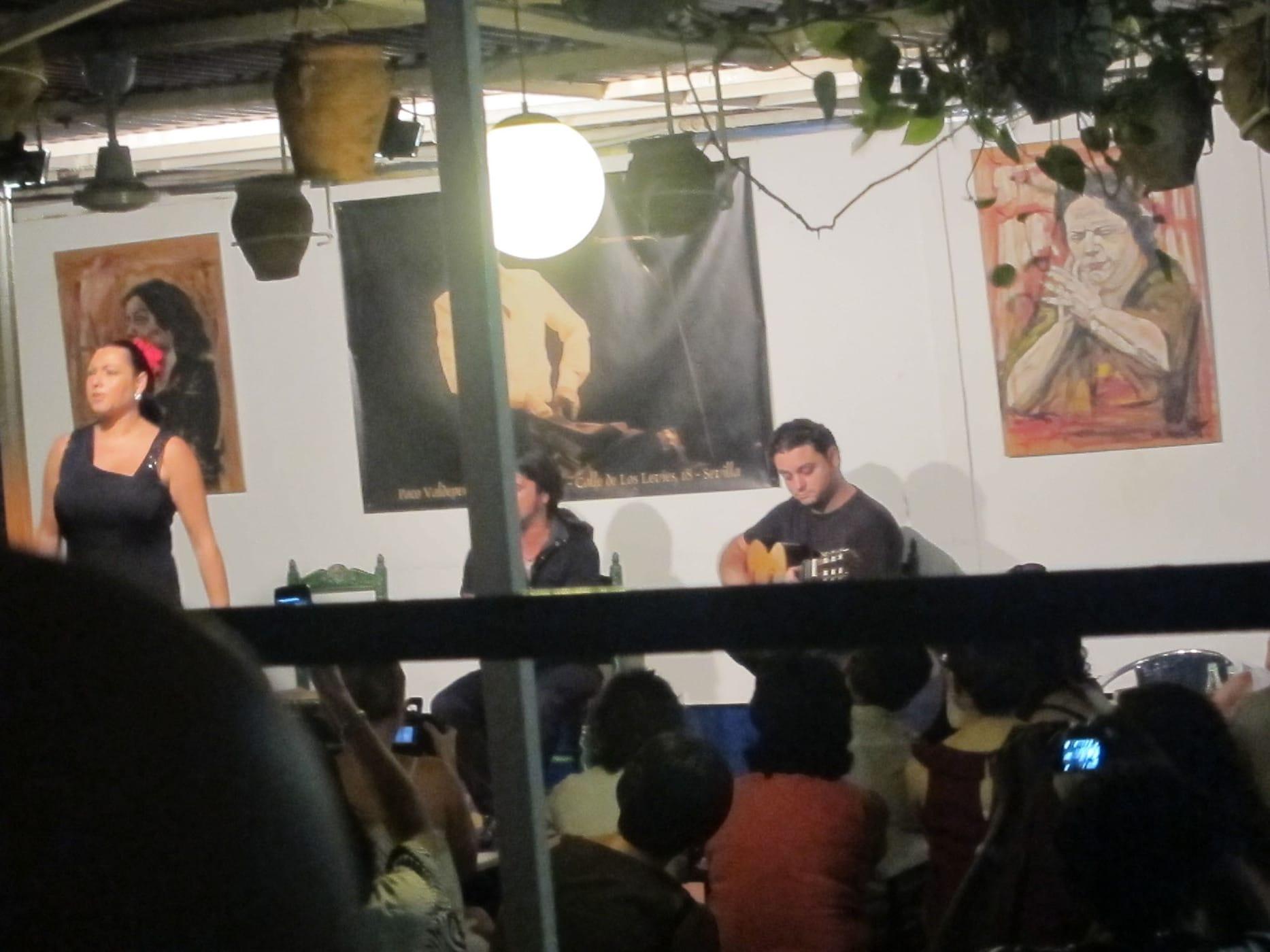Flamenco show in Sevilla, Spain