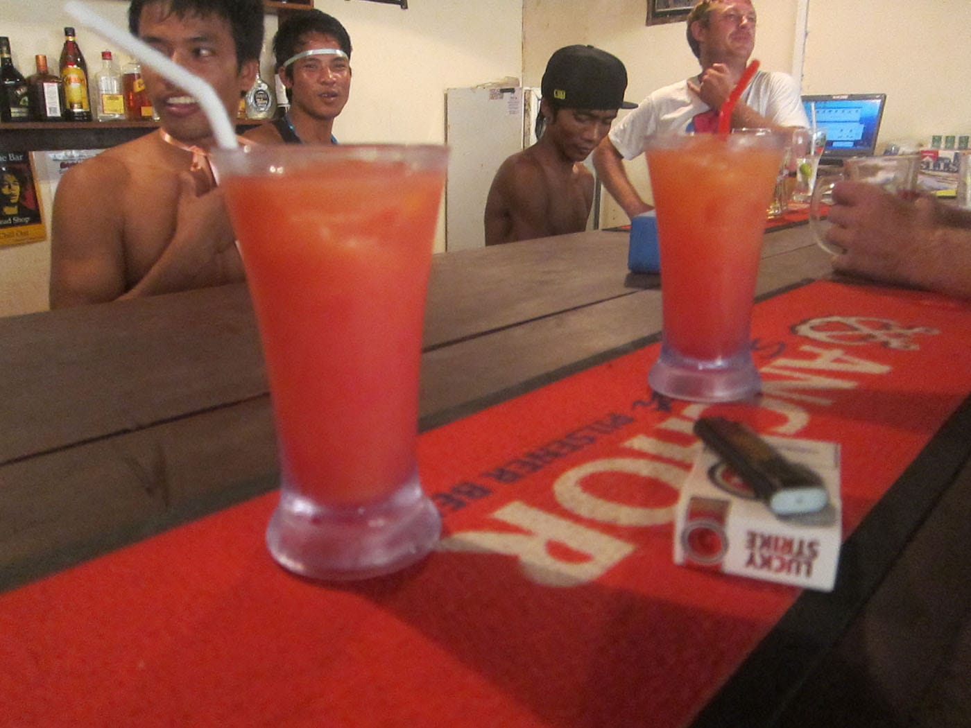 Drinks in Sihanoukville, Cambodia