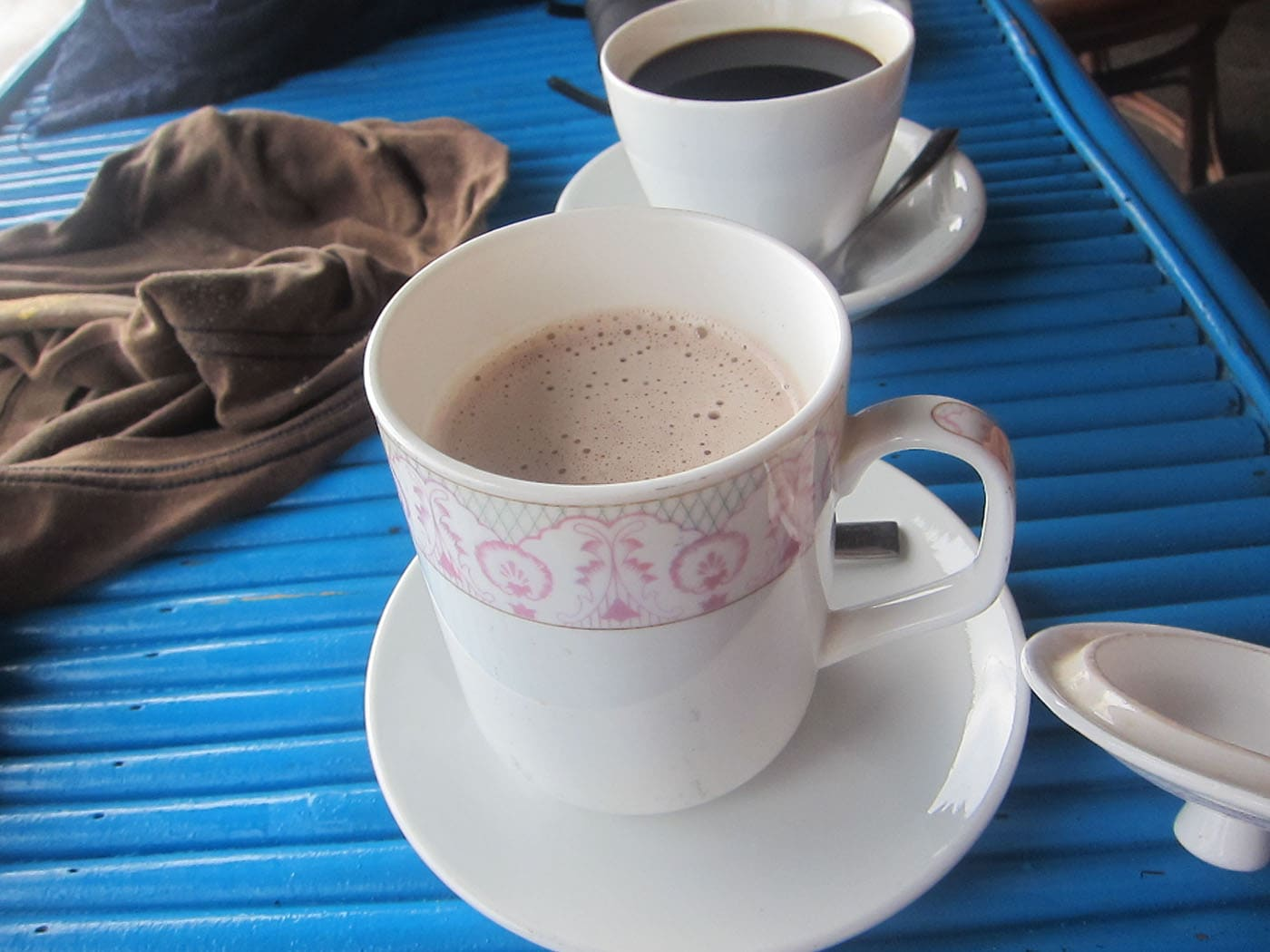 Hot chocolate in Sihanoukville, Cambodia