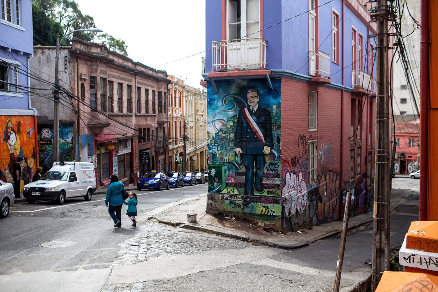Street Art in Valparaiso, Chile