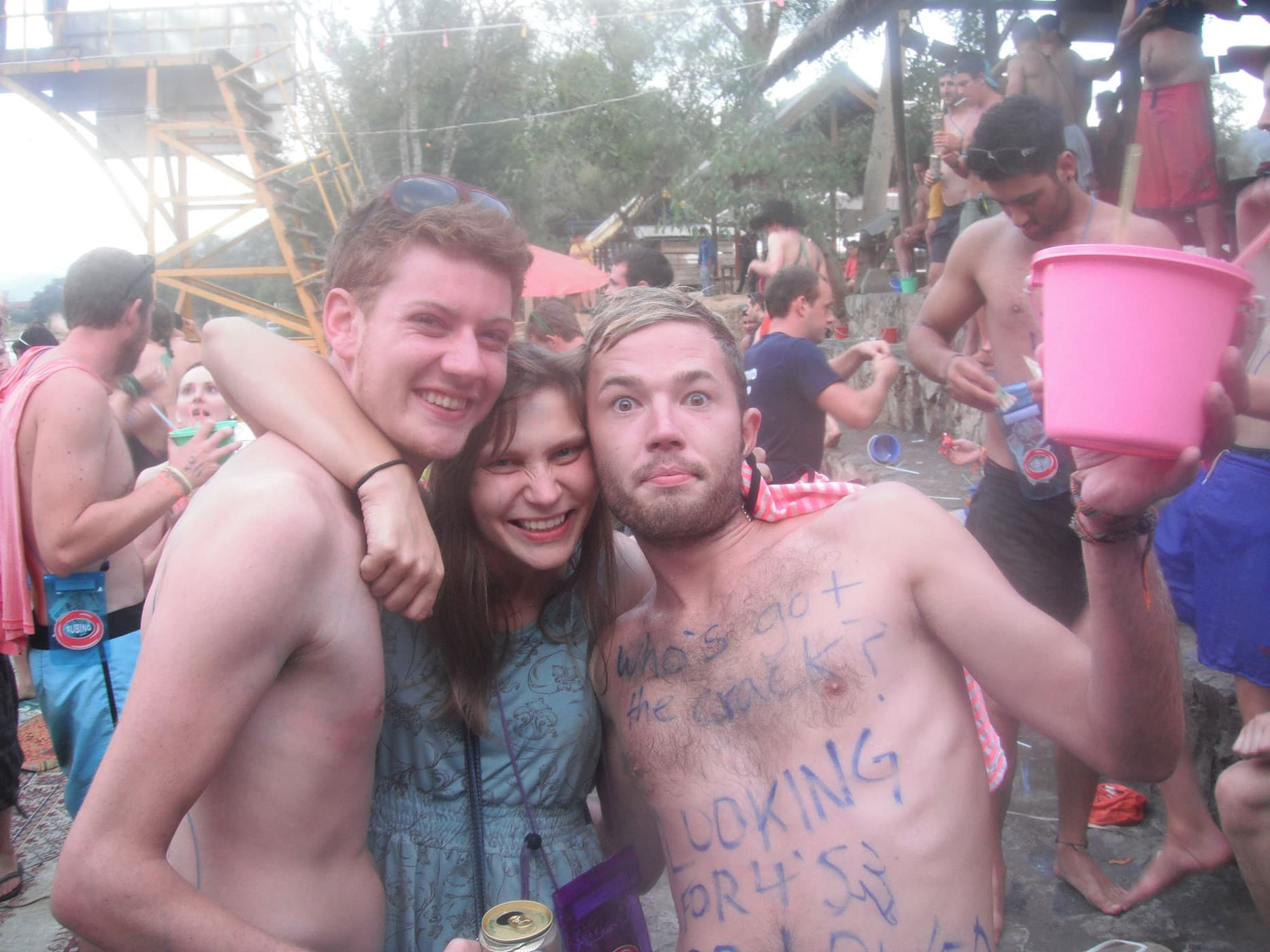 I was a hot mess in Vang Vieng.