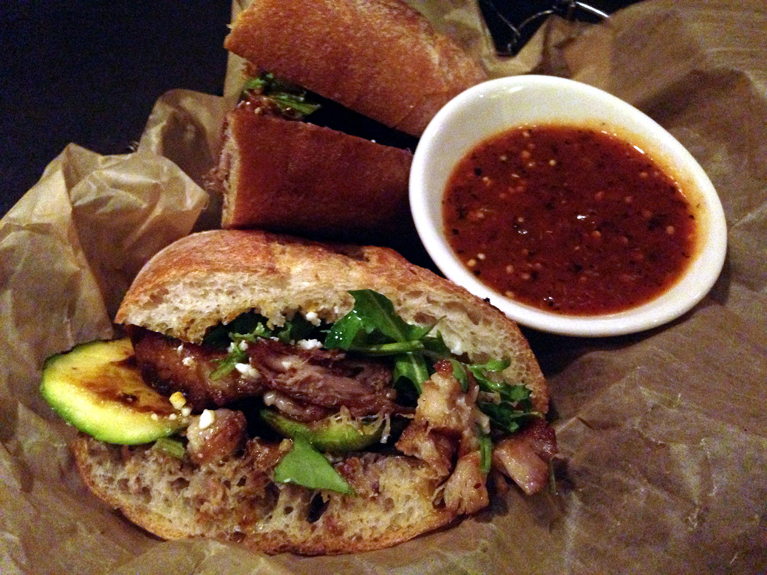 Pork Belly Torta from XOCO